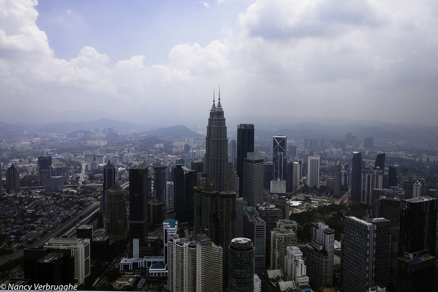 Kuala Lumpur view from KL Tower